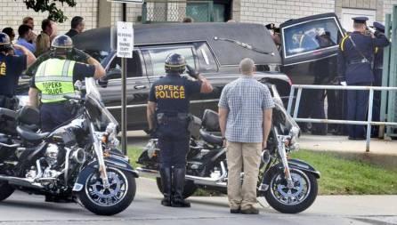 Topeka Police Officer Killed